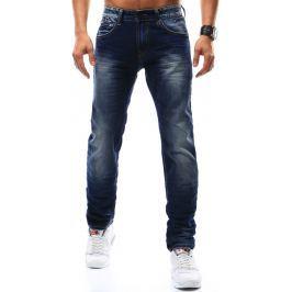 BASIC Pánské džíny (ux0917) velikost: 35, odstíny barev: modrá