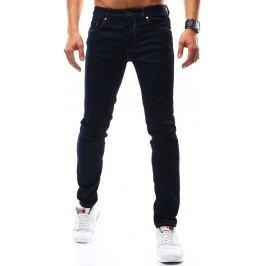 BASIC Pánské tmavě modré džíny (ux0932) velikost: 28, odstíny barev: modrá