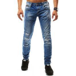 BASIC Pánské džíny (ux0925) velikost: 30, odstíny barev: modrá