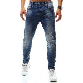 BASIC Pánské džíny (ux0927) velikost: 28, odstíny barev: modrá