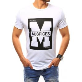BASIC Pánské bílé tričko (rx2433) Velikost: M