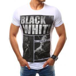 BASIC Pánské bílé tričko (rx2476) velikost: 2XL, odstíny barev: bílá