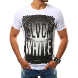 BASIC Pánské bílé tričko (rx2529) Velikost: 2XL