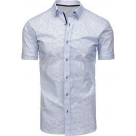 BASIC Elegantní bílá košile (kx0785) velikost: L, odstíny barev: bílá