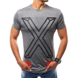 BASIC Pánské antracitové tričko (rx2559) Velikost: M