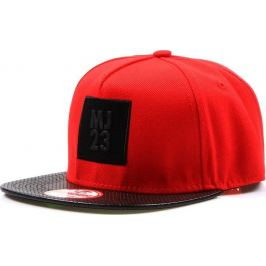 BASIC Snapback red (hx0216) Velikost: univerzální