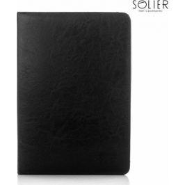 SOLIER Pánská černá dokladová taška (ST01 BLACK) Velikost: univerzální