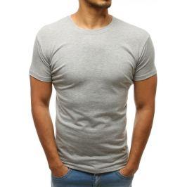 BASIC Pánské tričko šedé (rx2570) velikost: 2XL, odstíny barev: šedá