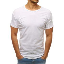 BASIC Pánské tričko bílé (rx2571) velikost: 2XL, odstíny barev: bílá