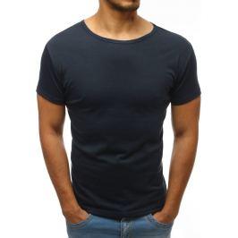 BASIC Pánské tričko tmavě modré (rx2573) velikost: 2XL, odstíny barev: modrá