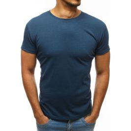 BASIC Pánské tričko tmavě modré (rx2574) velikost: 2XL, odstíny barev: modrá