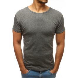 BASIC Pánské tričko antracitové (rx2576) velikost: 2XL, odstíny barev: šedá