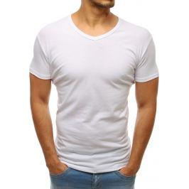 BASIC Pánské tričko bílé (rx2578) velikost: 2XL, odstíny barev: bílá