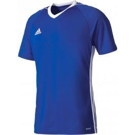 ADIDAS tričko Tiro 17 M BK5439 velikost: L, odstíny barev: modrá
