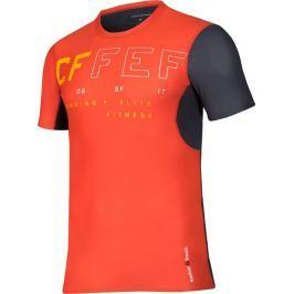 REEBOK kompresní triko CrossFit Short Sleeve M B45169 velikost: L, odstíny barev: červená