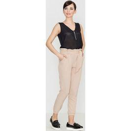 LENITIF Dámské béžové kalhoty  K296 Velikost: L