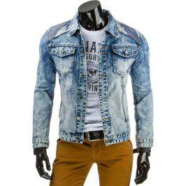 BASIC Džínová bunda (tx1158) velikost: S, odstíny barev: modrá