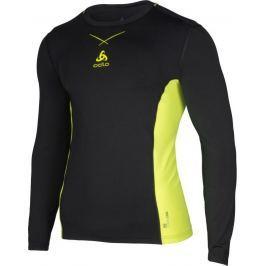 ODLO termoaktivní tričko Ceramicool Pro Shirt Crew M 160102/60088 velikost: S, odstíny barev: černá