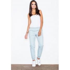 FIGL Světle modré jogger kalhoty  M307 Velikost: XL
