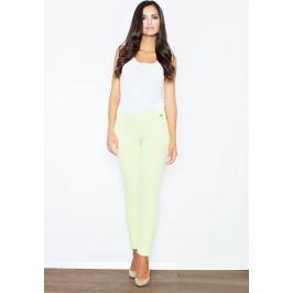 FIGL Rovně střižené limetkové kalhoty M377 Lime Velikost: L
