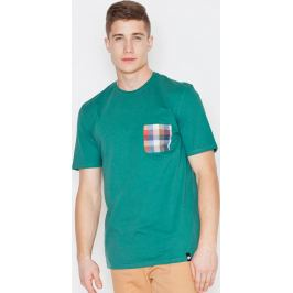 VISENT Zelené bavlněné tričko V002 Green Velikost: L