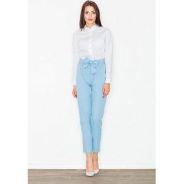 FIGL Společenské kalhoty s mašlí M523 Blue Velikost: L