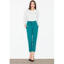FIGL Společenské kalhoty s mašlí  M523 Green Velikost: L