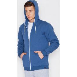 VISENT Modrá basic mikina V003 Blue Velikost: L