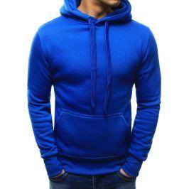BASIC Pánská mikina modrá (bx2392) velikost: 2XL, odstíny barev: modrá