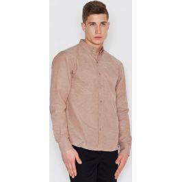 VISENT Béžová košile V019 Beige Velikost: L