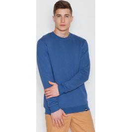 VISENT Modrá bavlněná mikina V005 Blue Velikost: L