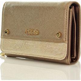 Stylová zlatá peněženka NOBO Np0720a velikost: univerzální, odstíny barev: zlatá