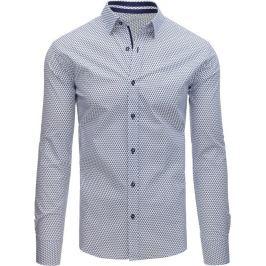 BASIC Elegantní pánská košile se vzorem (dx1514) Velikost: 2XL