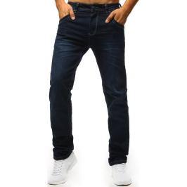 BASIC Tmavě modré pánské džíny (ux1307) Velikost: 28
