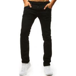 BASIC Černé pánské kalhoty  (ux1312) Velikost: 30