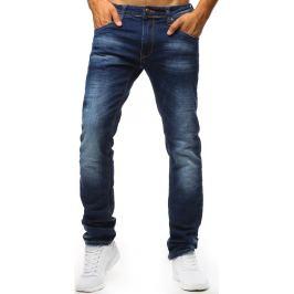 BASIC Modré džíny se světlými přechody (ux1318) Velikost: 30