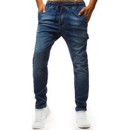 BASIC Modré jogger kalhoty (ux1345) Velikost: 28