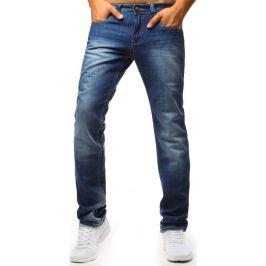 BASIC Klasické pánské džíny v modrém provedení (ux1349) Velikost: 29