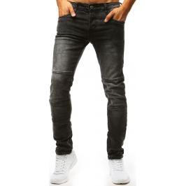 BASIC Černé denimové kalhoty (ux1322) Velikost: 29