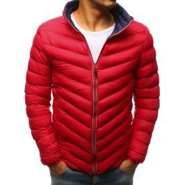 BASIC Červená zimní bunda (tx2376) Velikost: M