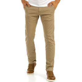 BASIC Elegantní béžové kalhoty (ux0876) Velikost: 29