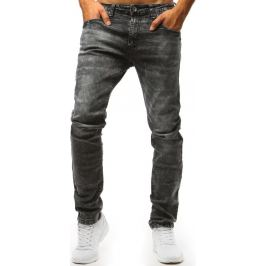 BASIC Šedé pánské kalhoty (ux1454) Velikost: 31