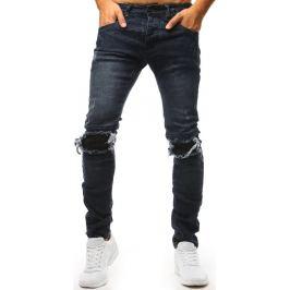 BASIC Černé potrhané džíny (ux1432) Velikost: 29