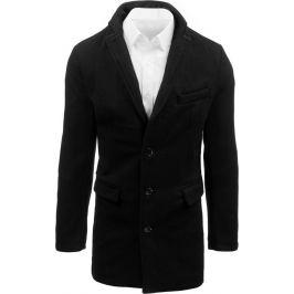 BASIC Černý pánský kabát (cx0380) Velikost: M