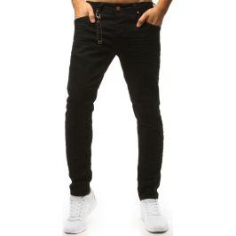 BASIC Černé džíny s dekorativní sponou na kapse (ux1470) Velikost: 29