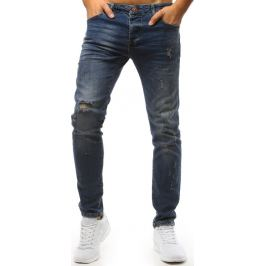 BASIC Modré potrhané kalhoty (ux1473) Velikost: 30