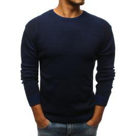 BASIC Pánský tmavě modrý svetr (wx1068) Velikost: S