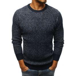 BASIC Granátový pletený svetr (wx1101) Velikost: M