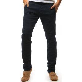 BASIC Pánské tmavě modré kalhoty (ux1440) Velikost: 29