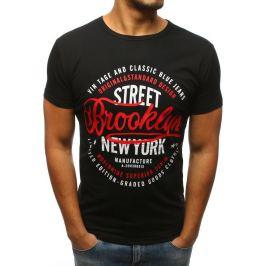 BASIC Černé triko Brooklyn (rx2974) Velikost: S